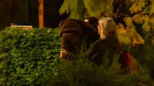 Hannah Quinn's mother hides her face as she walks free from Silverwater Correctional Centre.