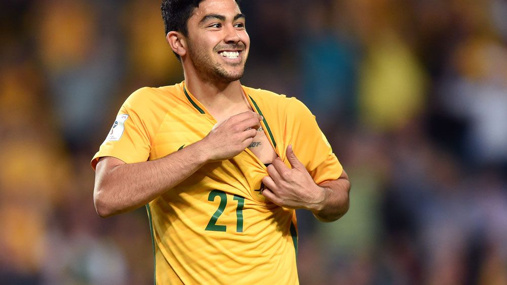 Massimo Luongo will miss the match against Thailand. (AAP)