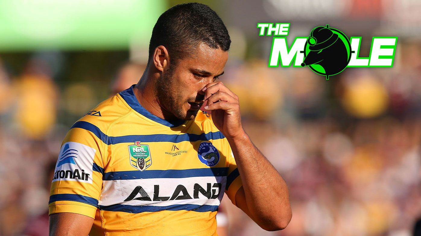 Struggling Parramatta Eels ready to clean out underperforming players at end of 2018, says The Mole