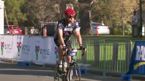 "His honour described cycling as an ""obsessive"" hobby. (9NEWS)"