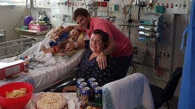 Xander hospital birthday