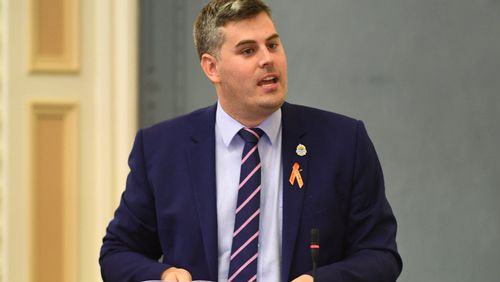 Police Minister Mark Ryan.