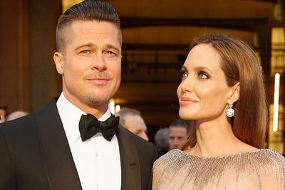 """Brad Pitt and Angelina Jolie got hitched in France over the weekend....finally!<br/><br/>The wedding took place with friends and family in a """"small chapel"""" at their vineyard <b><a target=""""_blank"""" href=""""http://homes.ninemsn.com.au/outdoor/441444/sneak-peek-inside-the-french-chateau-where-mr-and-mrs-smith-were-finally-hitched.slideshow"""">the Chateau Mirval</a></b>, in Le Val, southeastern France. Angelina, 39, was walked down the aisle by her eldest sons Maddox, 13, and Pax, 10. Shiloh, 8, and Knox, 6, were the ring bearers. <br/><br/>It's been a long time coming for the pair, who met while filming <i>Mr and Mrs Smith</i> in 2005... It's like they had a 10 year pact or something!<br/><br/>Scroll through the slides to see where the Brangelina romance began...<br/>"""