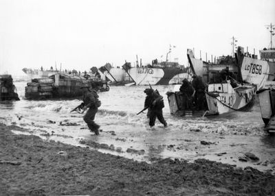 Stunning pictures released to mark 75 years since D-Day landings