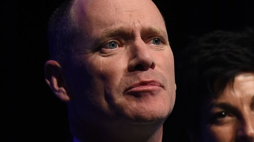 Campbell Newman blames media for downfall in Queensland