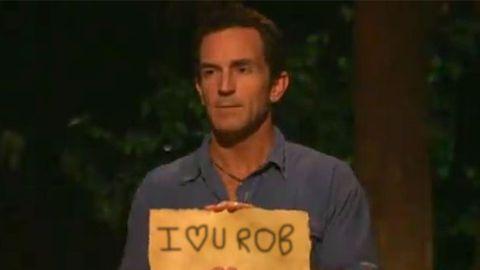 "Survivor host Jeff Probst admits he has a ""man-crush"" on...?"