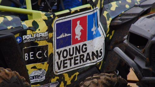 The Young Veterans hold activities such as race car driving to help members.