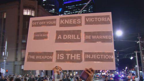 Flinders Street protests