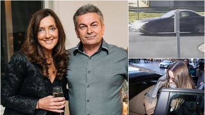 Ristevski Mercedes 'had been driven off road'