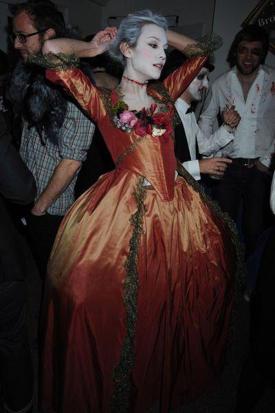 Alexa Chung as Marie Antoinette, 2008