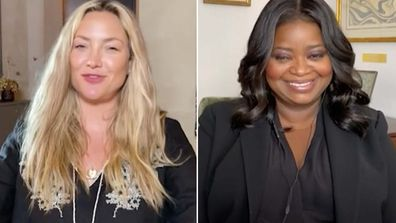 Kate Hudson and Octavia Spencer formed a close friendship while filming.