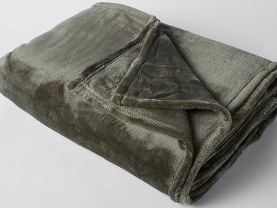Super Soft Blanket (Olive) — Target