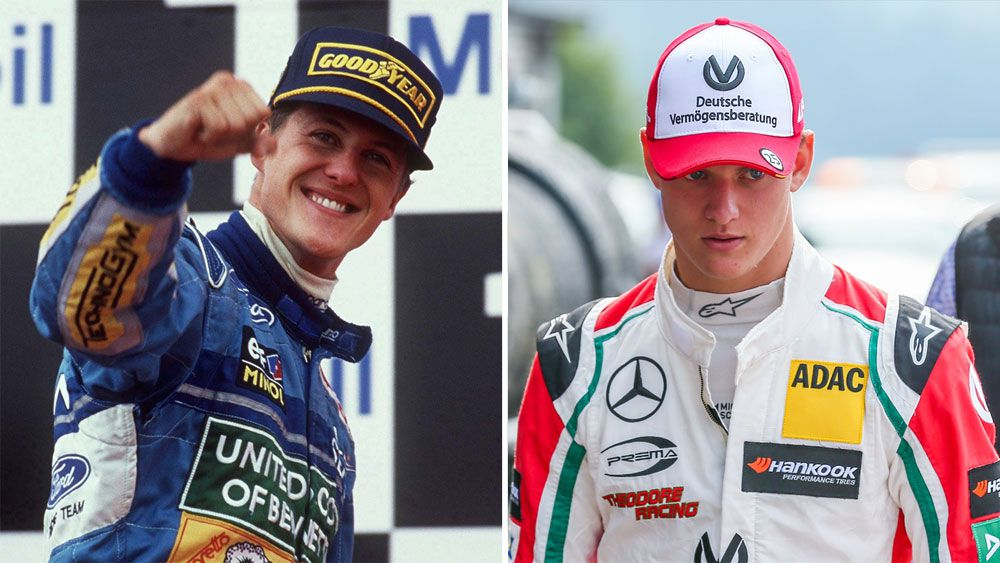 Former F1 champion Michael Schumacher's son Mick in 'emotional' Spa drive to honour father