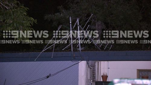 More than 50,000 were without power at 6.30am the next day. (9NEWS)