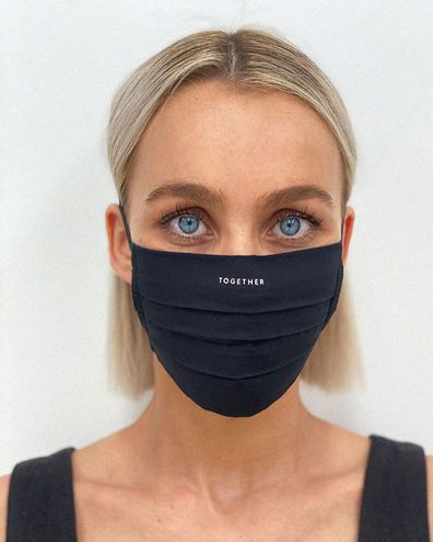Designer releases 'face masks' with no medical benefit.