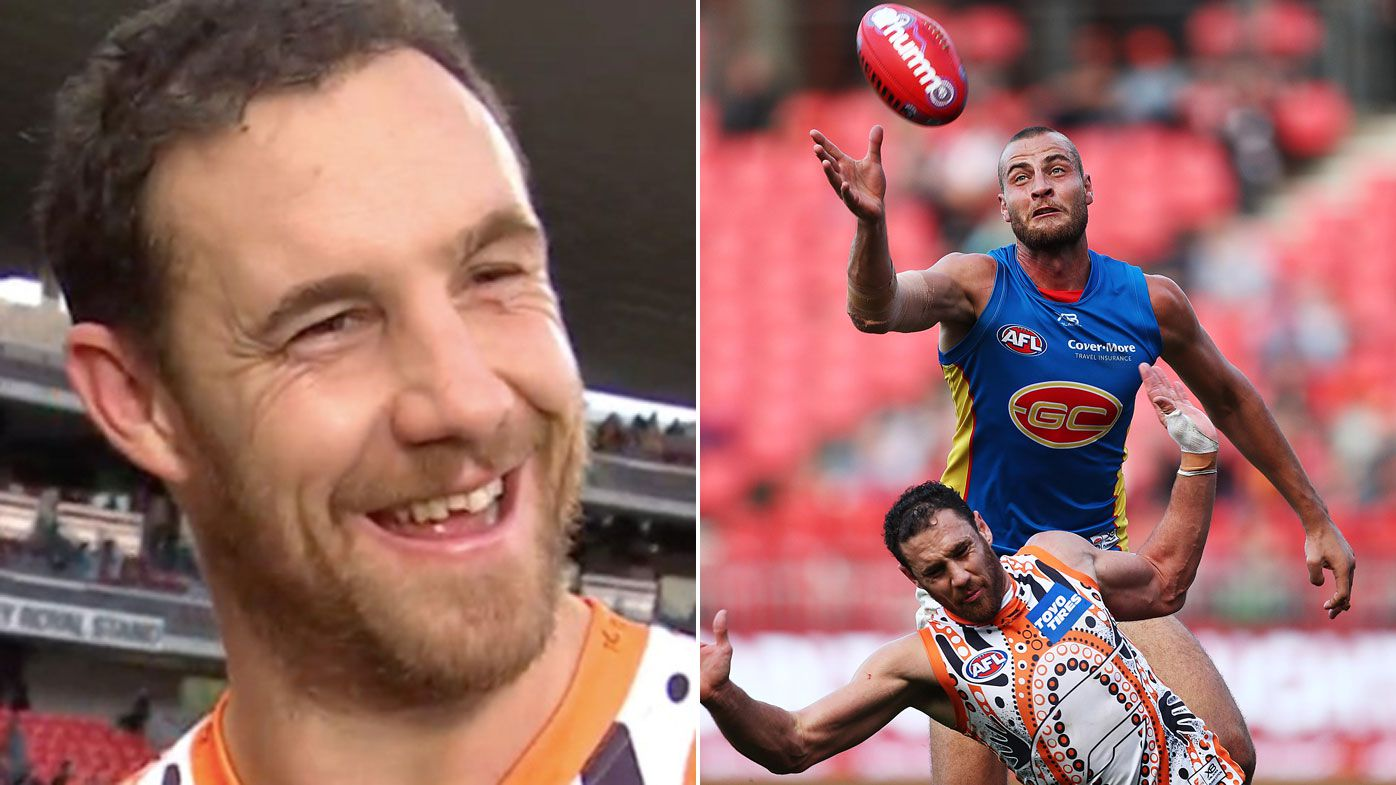 Shane Mumford has tooth broken off in mouth guard in win over Suns
