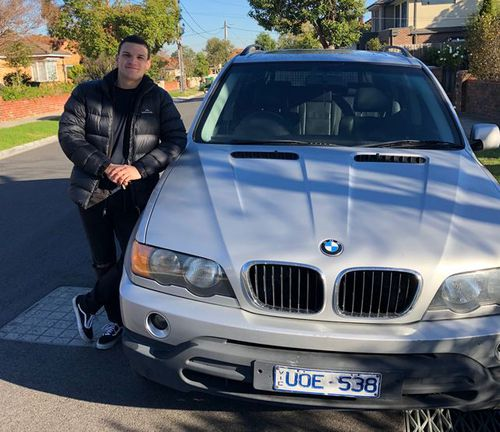 Constantinos Siavelis was going about his day when he checked the mail this week and found a speeding infringement. Picture: 9NEWS