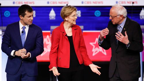 The end to Warren's campaign book-ends months of falling behind in the polls after her Democratic rivals.