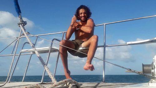 Colin Fuge, from Newcastle in NSW, spent 73 days at sea when the vessel he was travelling on was repeatedly rejected by different port authorities.