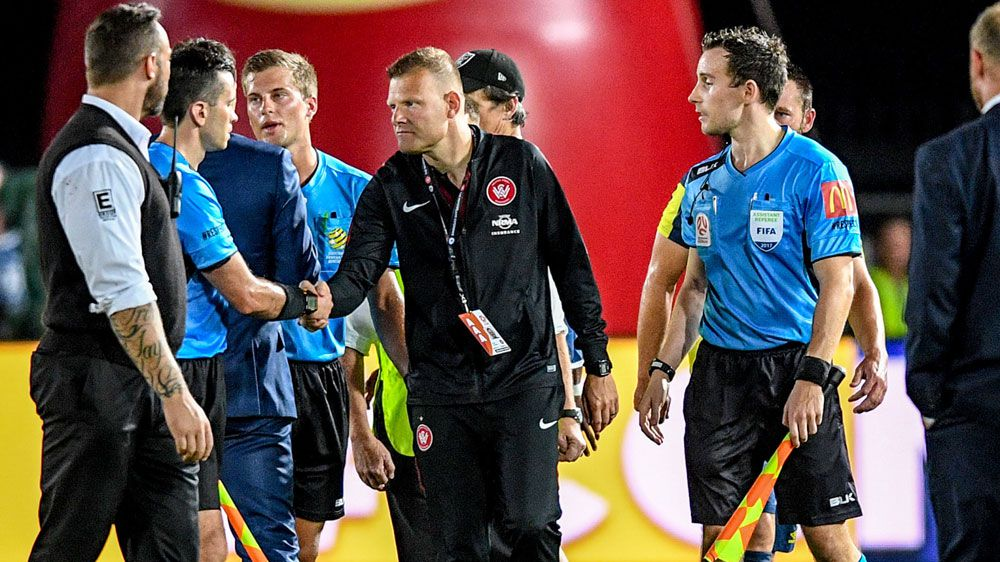 VAR drama mars Wanderers A-League revival