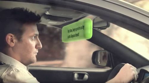 """The Motor Accident Commission South Australia's """"You can live without it"""" campaign demonstrates how dangerous mobile phones can be to drivers and pedestrians."""