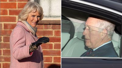 Prince Charles attends the Queen's pre-Christmas lunch, December 2018