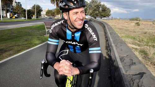 Clint Stanaway will embark on a 1013km ride to raise funds for the Ovarian Cancer Research Foundation. (Supplied)