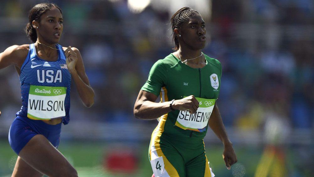 Controversial South African runner Caster Semenya. (AFP)