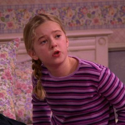 "Madylin Sweeten as Alexandra ""Ally"" Barone: Then"