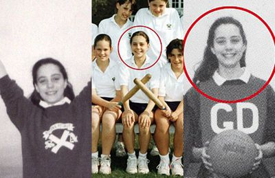 Kate was a terrific athlete at school, recorded as being the highest scorer on the under-12/13 team at St Andrew's.