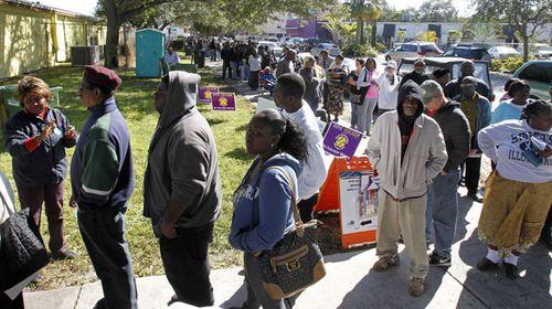 Obama warns Republicans suppressing vote