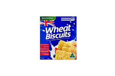 Goldenvale Wheat Biscuits (Aldi)