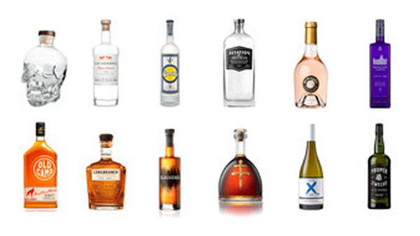 Celebrities with alcohol brands