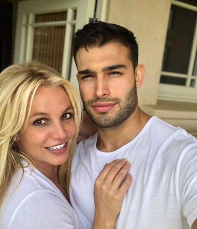 Britney Spears and boyfriend Sam Asghari.