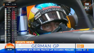 F1: Daniel Ricciardo 'hurt' by Red Bull engine failure at German GP
