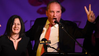 Barnaby Joyce's wife 'does not want him to lose his job'