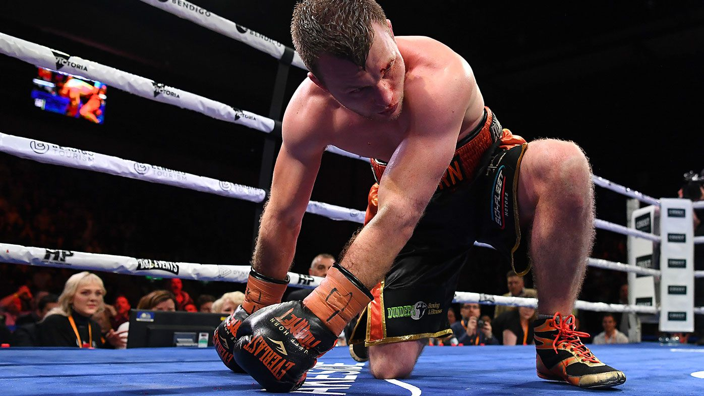 Soul searching for Jeff Horn after brutal boxing loss to Michael Zerafa