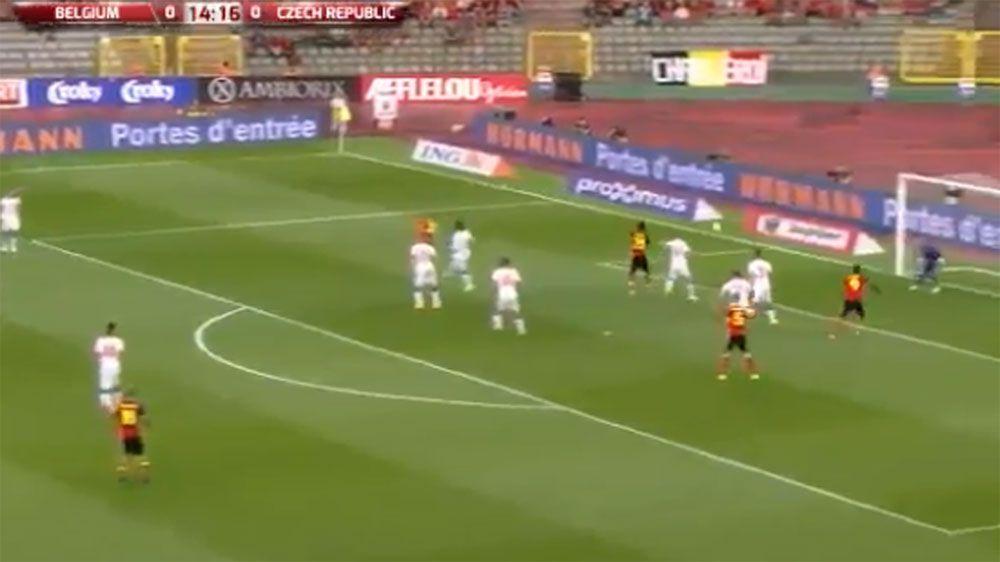 In-demand striker misses absolute sitter during International Friendly