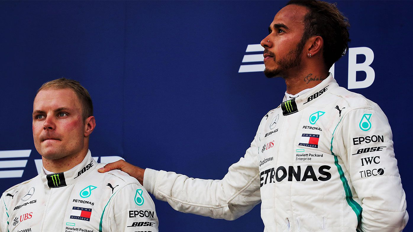 Controversial Mercedes tactics slammed after Valtteri Bottas forced to allow Lewis Hamilton win