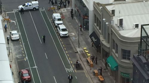 Tradie's tool behind Adelaide CBD bomb scare