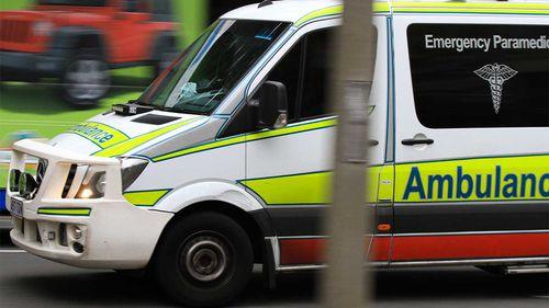 A Queensland ambulance.