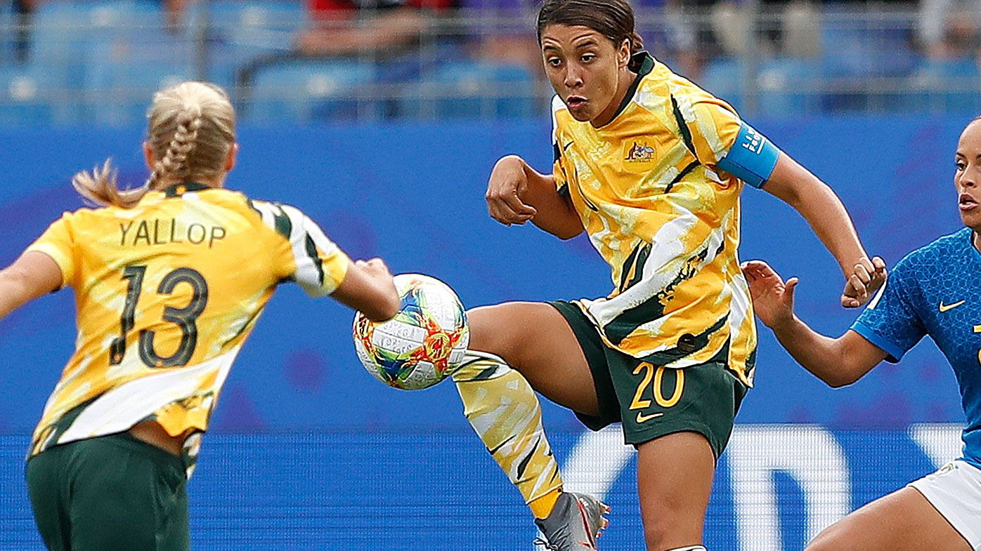 Sam Kerr of the Matildas
