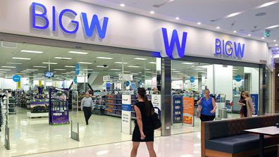 Last year Woolworths announced it will close about underperforming 30 Big W stores and two distribution centres over the next three years. (AAP Image/Dave Hunt)
