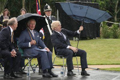 Prince Charles at The National Memorial Arboretum, July 2021