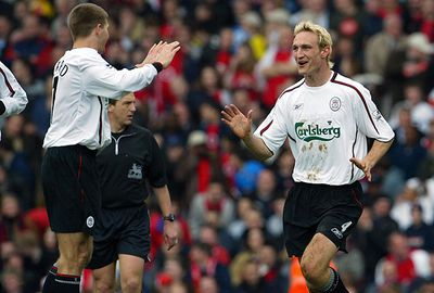 Gerrard became vice-captain to Sami Hyppia in 2002.