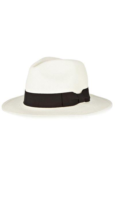 "<a href=""http://www.net-a-porter.com/product/514757/Sensi_Studio/classic-toquilla-straw-panama-hat"" target=""_blank"">Hat, $131.86, Sensi Studio</a>"
