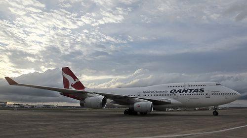 A Qantas Boeing 747. (AAP)