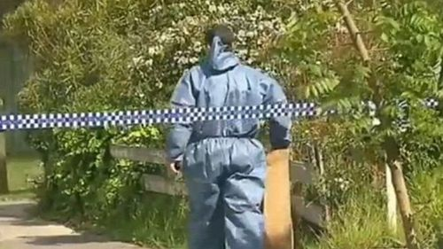 The 55-year-old offender was arrested by authorities at the scene in Springvale,