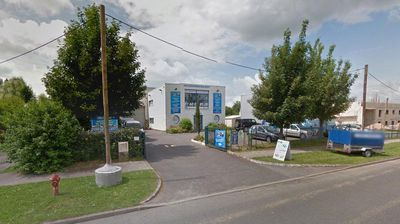 The gunmen were then able to flee to a printing warehouse (pictured) in the industrial area in the town of Dammartin-en-Goele, 35 km from the centre of Paris. (Google Street View)<p></p><p></p>