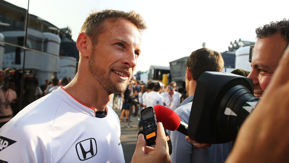 Formula One champion Jenson Button will move into semi-retirement next season.(Getty)